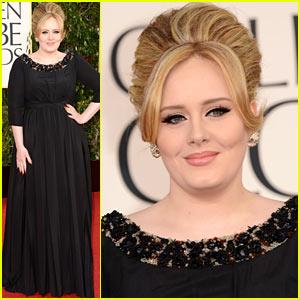 Adele at Golden Globes 2013