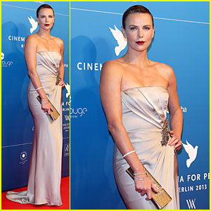 Charlize Theron at Cinema for Peace Gala