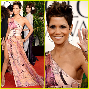 Halle Berry at 2013 Golden Globes