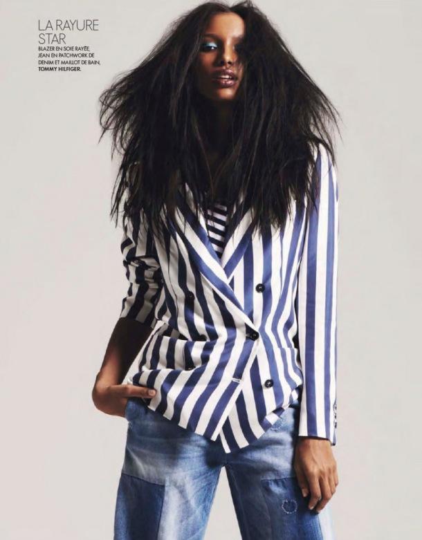 Jasmine Tookes for Elle France 2013-002