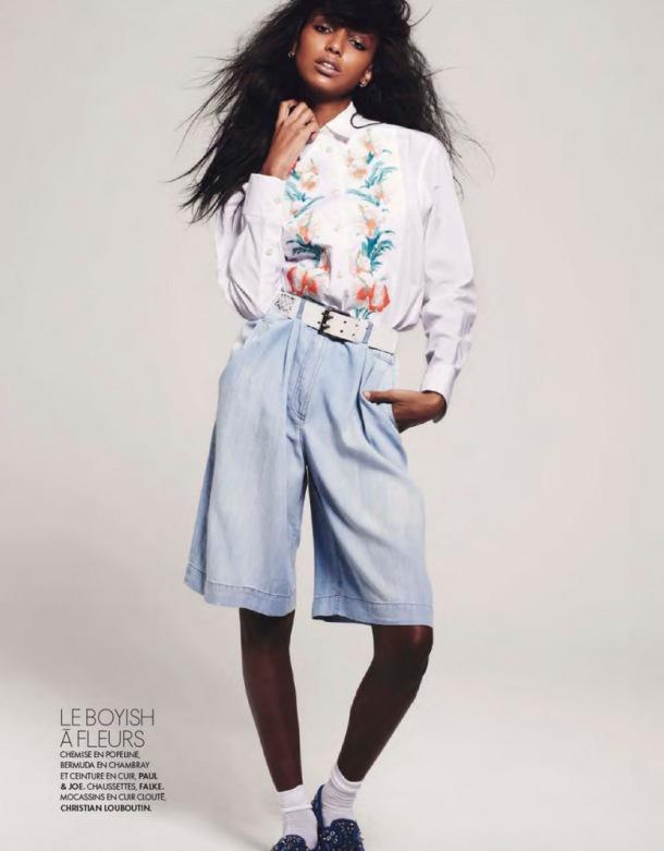 Jasmine Tookes for Elle France 2013-013