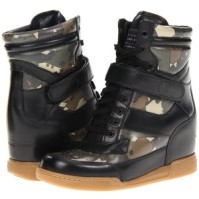Marc by Marc Jacobs Hi-Top Wedge Sneaker in camo