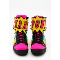Nasty Gal Wordz sneaker