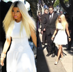 Nicki Minaj in Beverly Hills