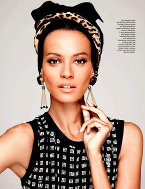 Liya Kebede for AmicaMagazine