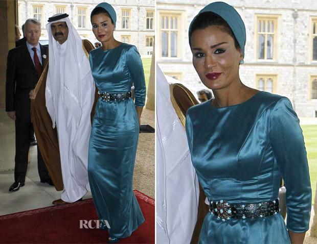Sheikha Mozah Bint Nasser Al Missned Miyoshifashion