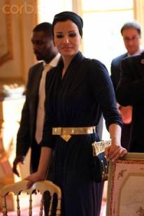 France - Diplomacy - Sheikha Mozah bint Nasser Al-Missned