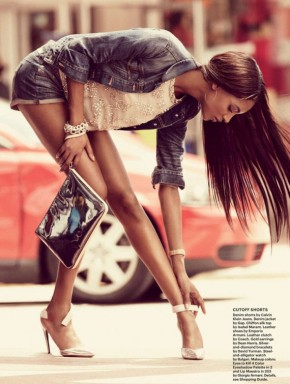 Jourdan Dunn for Allure Magazine July 2013